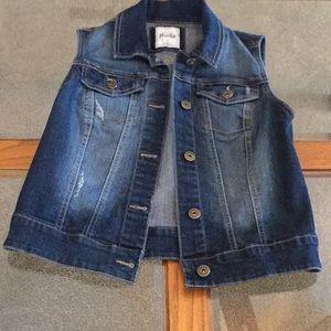 Mudd Jean Vest
